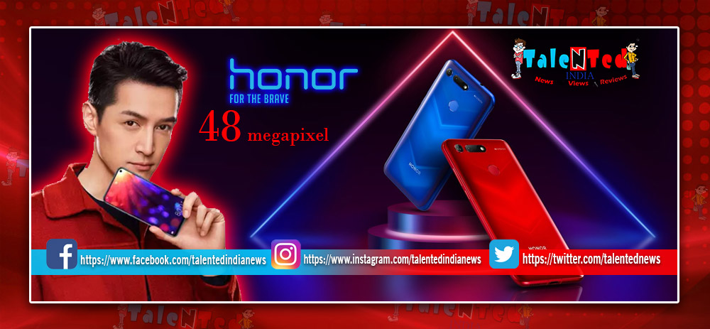 Honor View 20 Launched : Know Price, Feature, Specification, Comparision
