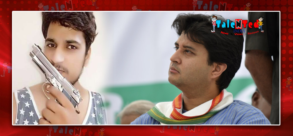 BJP MLA's son threatens to Congress leader Jyotiraditya Scindia