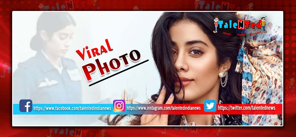 Gunjan Saxsena Biopic First Look : Janhvi Kapoor's 1st Look As Gunjan Saxena