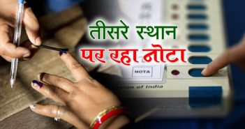 'Nota' Became 3rd Number In Rajasthan : नोटा तीसरे नंबर पर