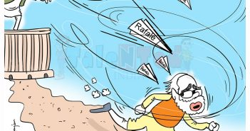Talented India Today Cartoon On Rahul Gandhi, Rafale Deal, Parliament