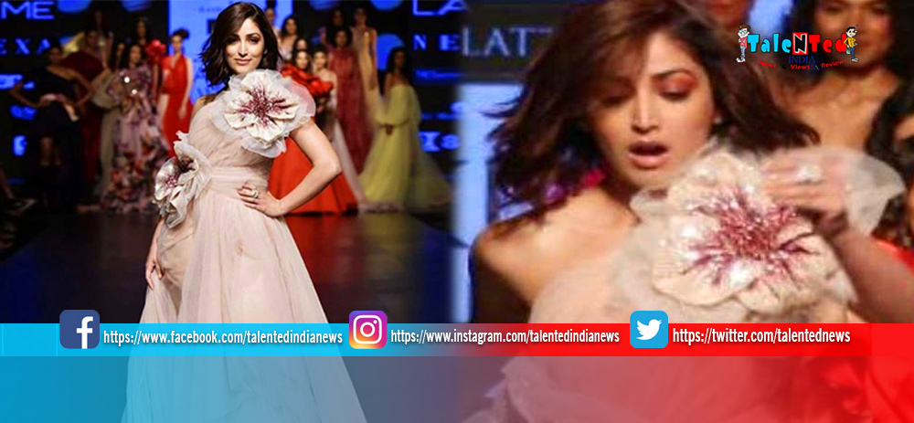 Lakme Fashion Week 2019 : Yami Gautam Trips While Walking Ramp See Video