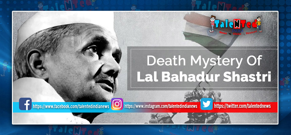 Download Full HD Lal Bahadur Shastri's Death Movie Trailer Free