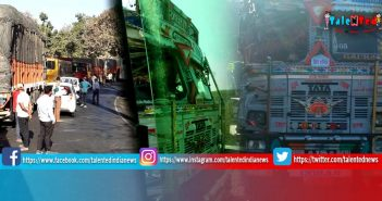 Two Trucks Collide At Bheru Ghaat | Indore Khandwa Road Accident | Indore News