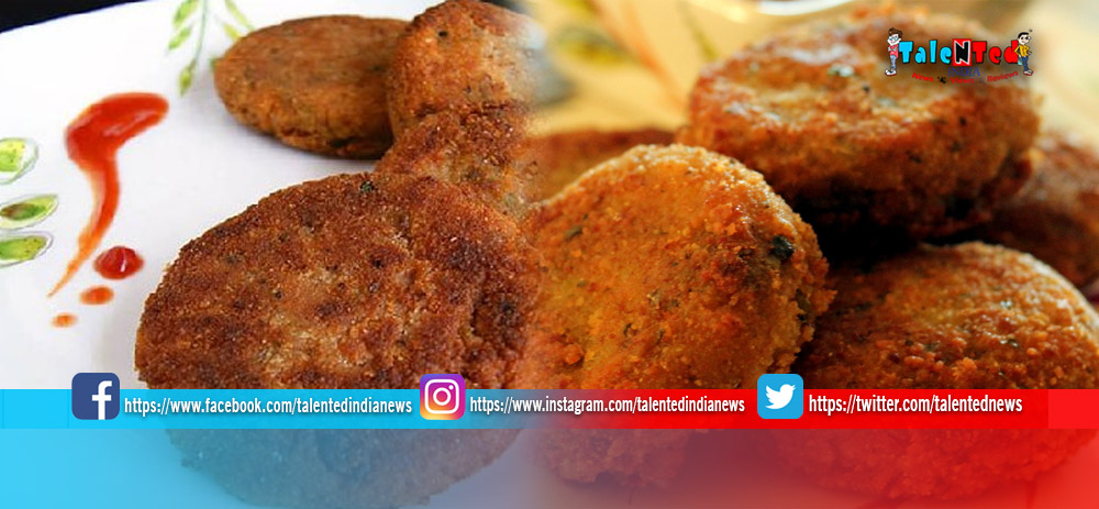 Rice Cutlet Recipe In Hindi   Rice Cutlet Recipe Video   How To Make Rice Cutlet