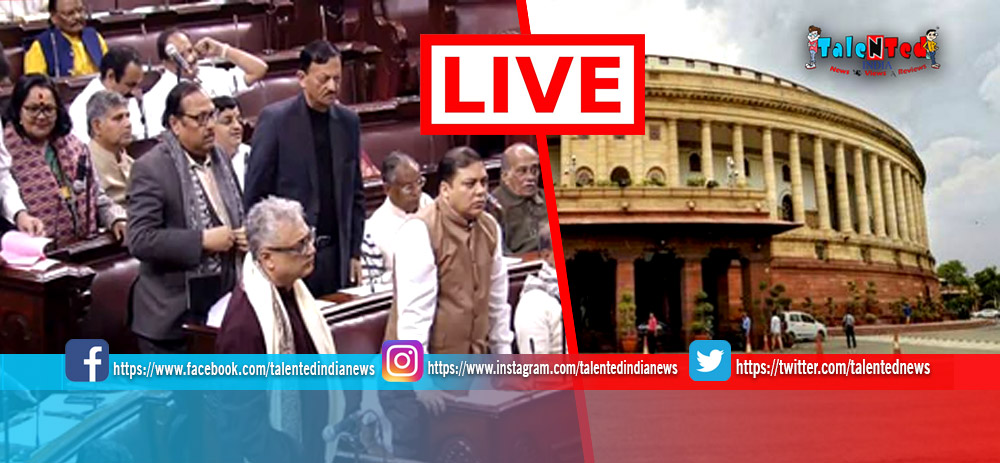 Parliament Budget Session Day 3 Live Updates : Lok Sabha Adjourned Till 12 PM
