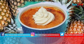 Vanilla Pineapple Custard Recipe In Hindi | Vanilla Pineapple Custard Recipe Video