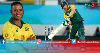 Ind vs Aus 5th ODI Live Score Update | Usman Khawaja 2nd ODI Century Of Series