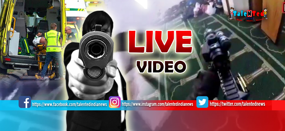 New Zealand Attack Live Video
