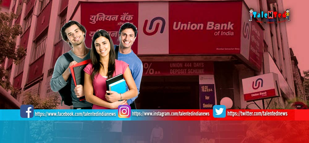 Union Bank SO Recruitment 2019 Official Notification | Specialist Officer Vacancies