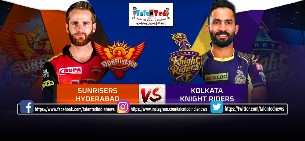 IPL 2019 Match 38 Live Streaming On Hot Star, Star Sports, DD Sports | srh vs kkr