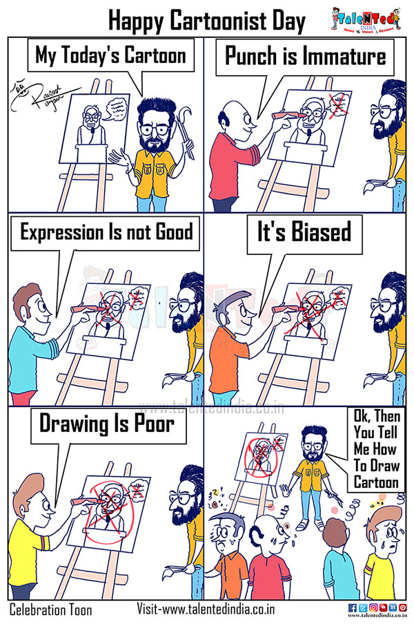 National Cartoonists Day 2019