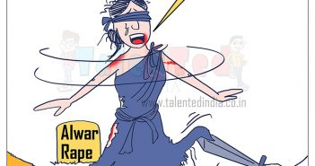 Today Cartoon On Alwar Gangrape | Rajstthan | Aaj Ka Cartoon | Alwar