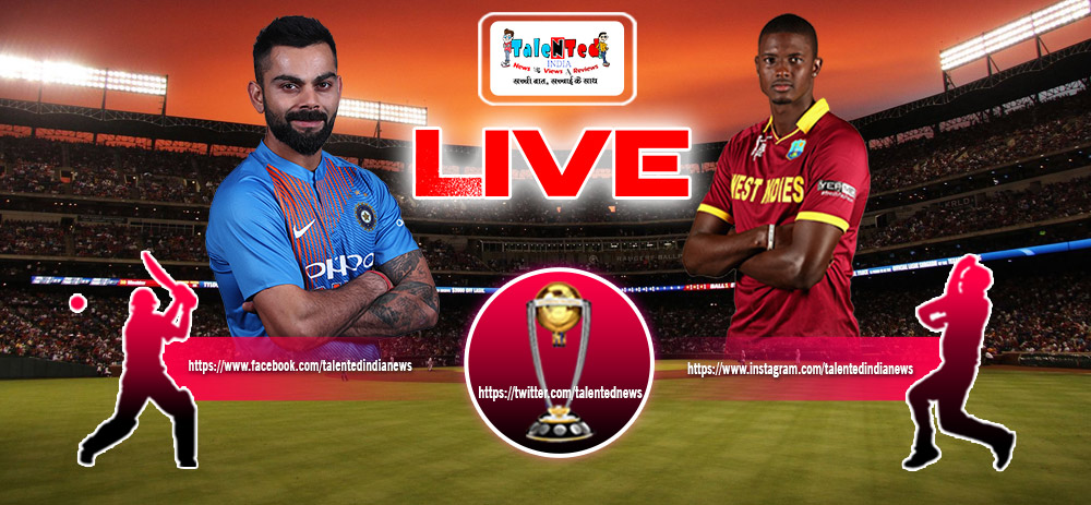 ICC World Cup 2019 Match 34 Live On HotStar | India vs West Indies Live