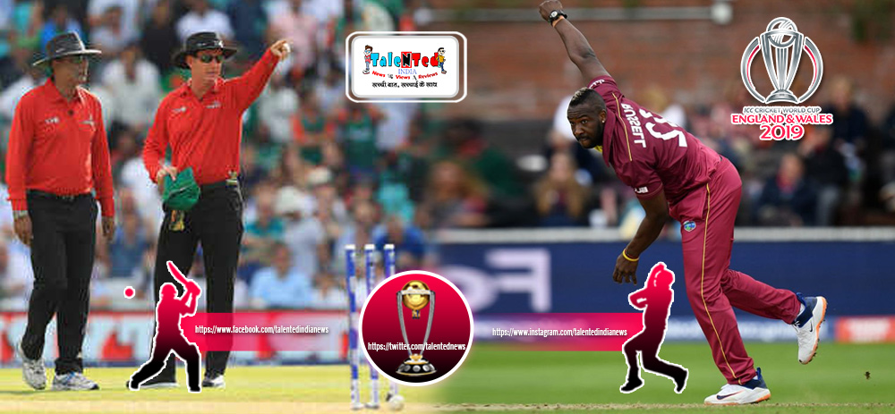 Andre Russell Injuried During World Cup 2019 Match 23 | BAN vs WI