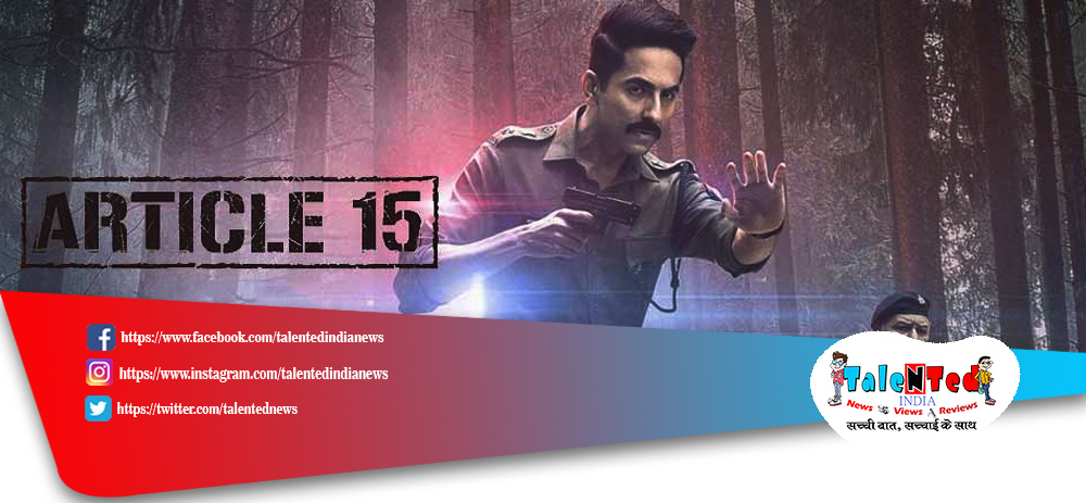 Article 15 Box Office Collection Day 4 | Download Full HD Article 15 Movie