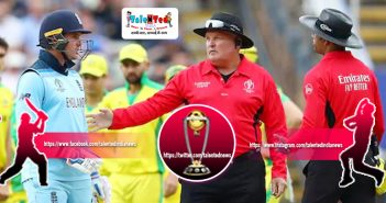Kumar Dharmasena Field Umpire For World Cup 2019 Final