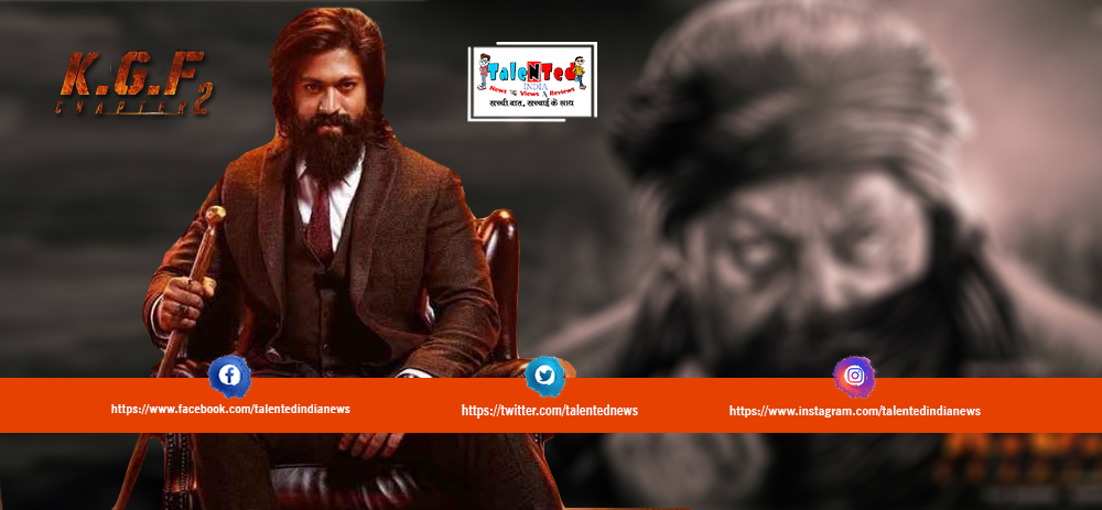 Download Full HD KGF Chapter 2 Movie First Look Poster