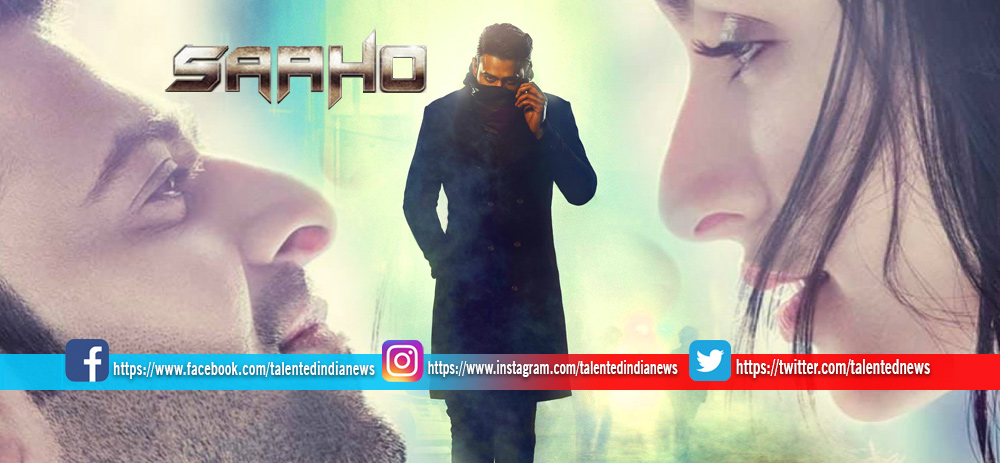 Download Full HD Shraddha Kapoor Prabhas Saaho Film Romantic Poster