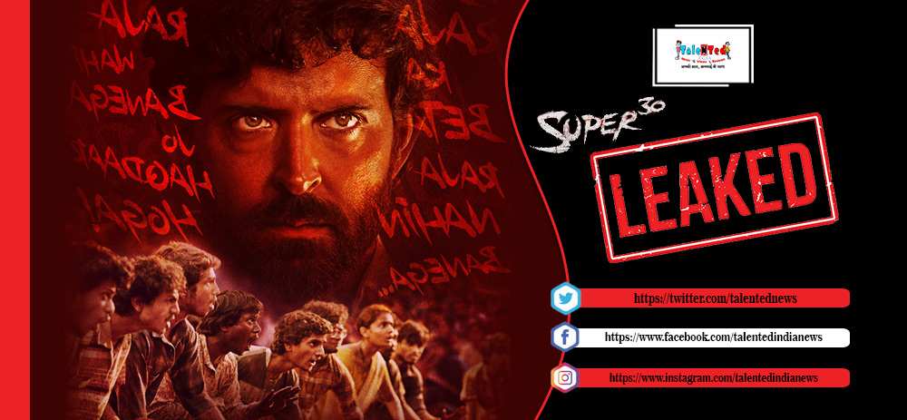 Super 30 Full Movie HD Download Free Link Leaked By Tamilrockers