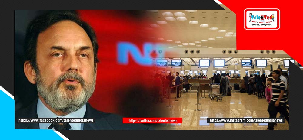 NDTV Prannoy Roy Detained At Mumbai Airport With Wife Radhika Roy