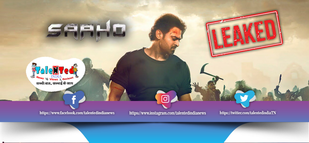 Download Tamilrockers 2019 Movie : Saaho Full Movie Leaked Online