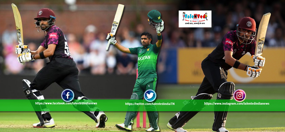 Pakistan Player Babar Azam Scores 55 Ball Century In T20 Blast