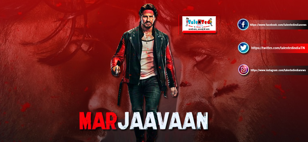 Download Full HD Marjaavaan Movie First Look, Released Date, Star Cast
