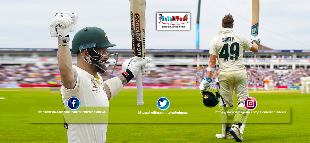 Ashes 2019 Live Score | Steve Smith And Matthew Wade Century 2019