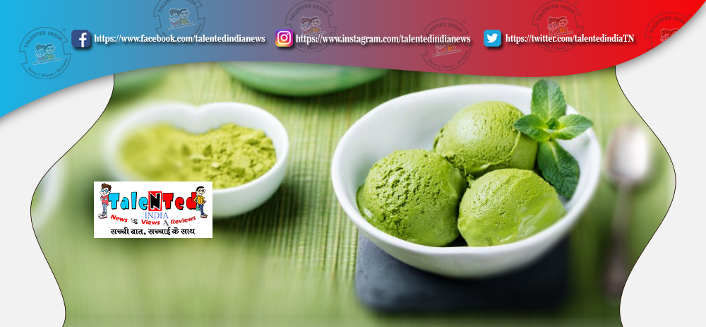 Matcha Ice Cream Recipe