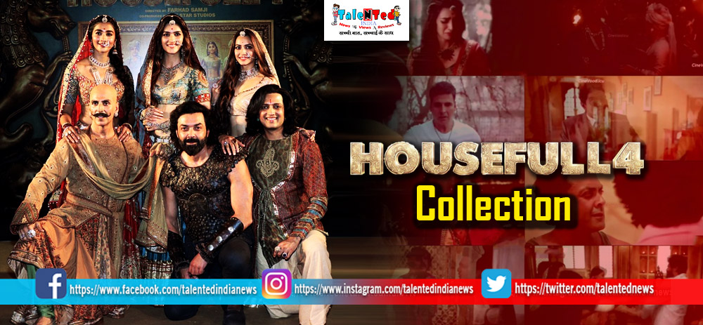 Housefull 4 Movie Collection Day