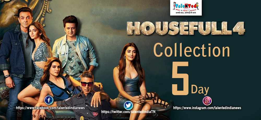 Housefull 4 Movie Collection Day 5