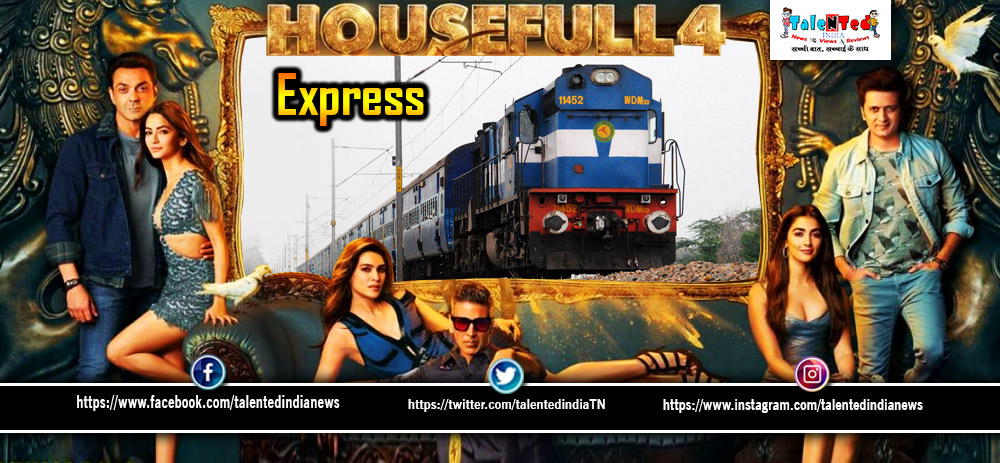 Housefull 4 Promotional Trains