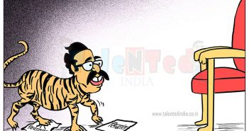 Cartoon On Maharashtra Govt
