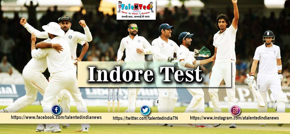 India vs Bangladesh Test Match In Indore