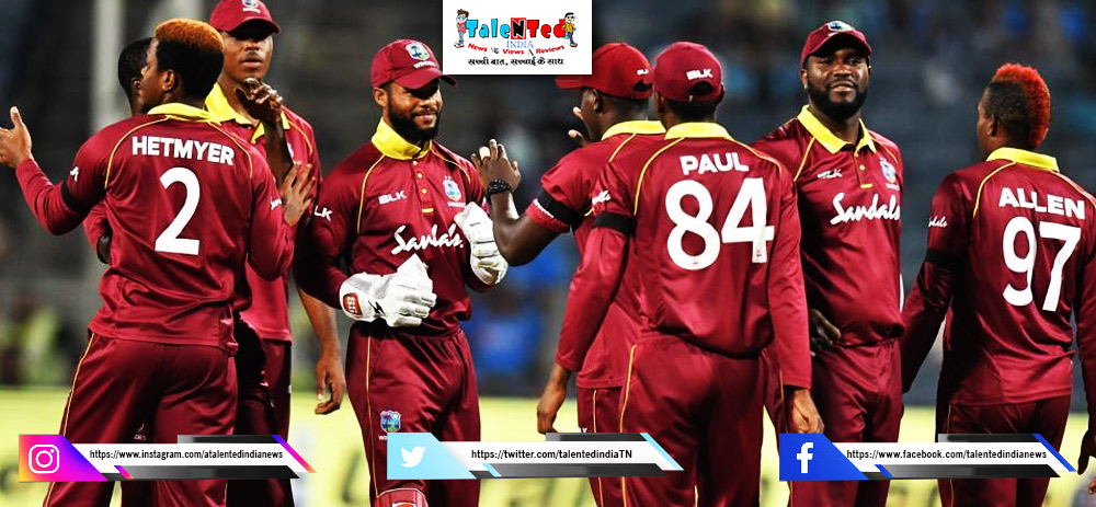 West Indies Squad For ODI