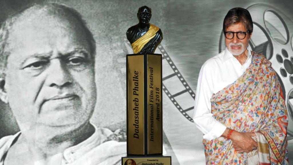 Amitabh Bachachan Honored With Dada Saheb Phalke Award