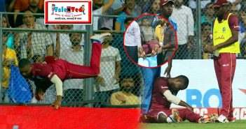 India vs West Indies 3rd T20 Stunning Efforts On Boundary