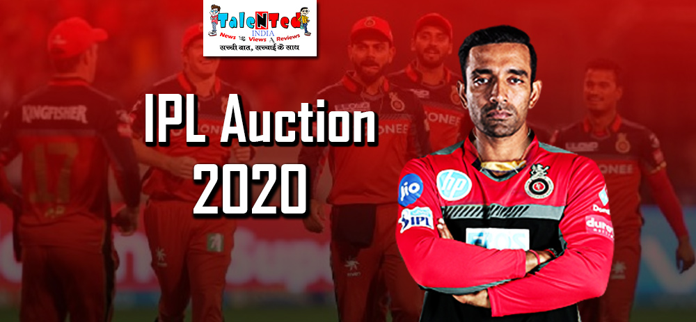 Royal Challengers Bangalore Can Buy 3 Players In IPL Auction 2020