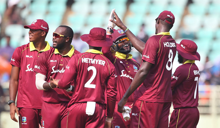 West Indies Team Doesn't Sing National Anthem Before Match