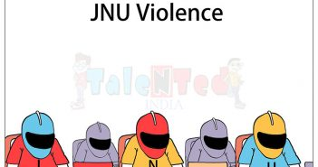 Cartoon On JNU Violence | Latest News Updates On Talented India