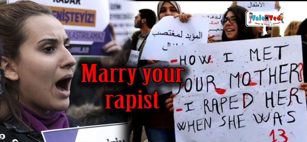 Controversy On Marry Your Rapist Bill In Turkey | Latest News