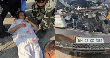 Shabana Azmi Road Accident | Injured Severely Car Collide With Truck