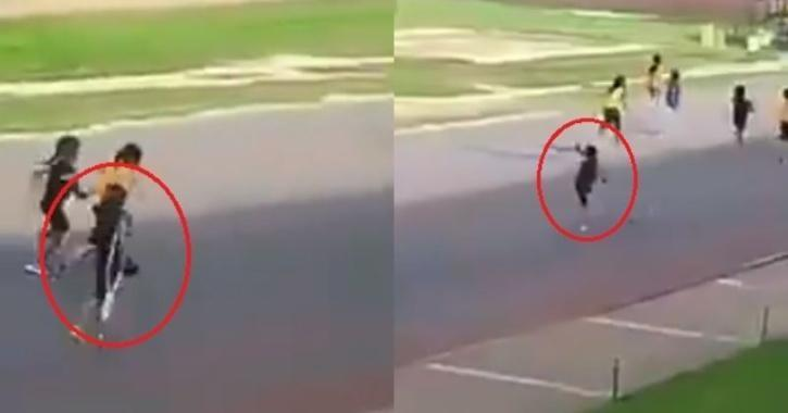Race With One Leg Video Viral | Divyang Baby Girl Paticipated In Race