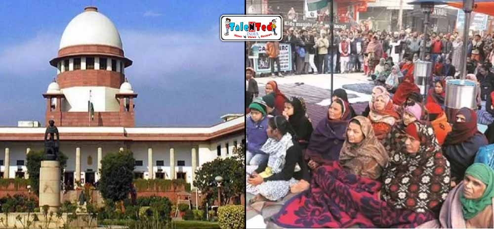 Supreme Court Gives Notice To Government In Shaheen Bagh Cases