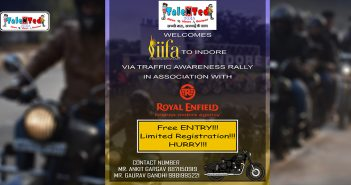 Talented India Presents Bike Rally For Traffic Awareness | Indore News