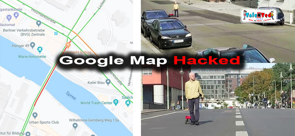 Simon Weckert Hacked Google Maps without Any Software