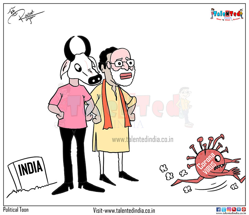 Cartoon On Coronavirus India | Matka Cartoon | Social Toon