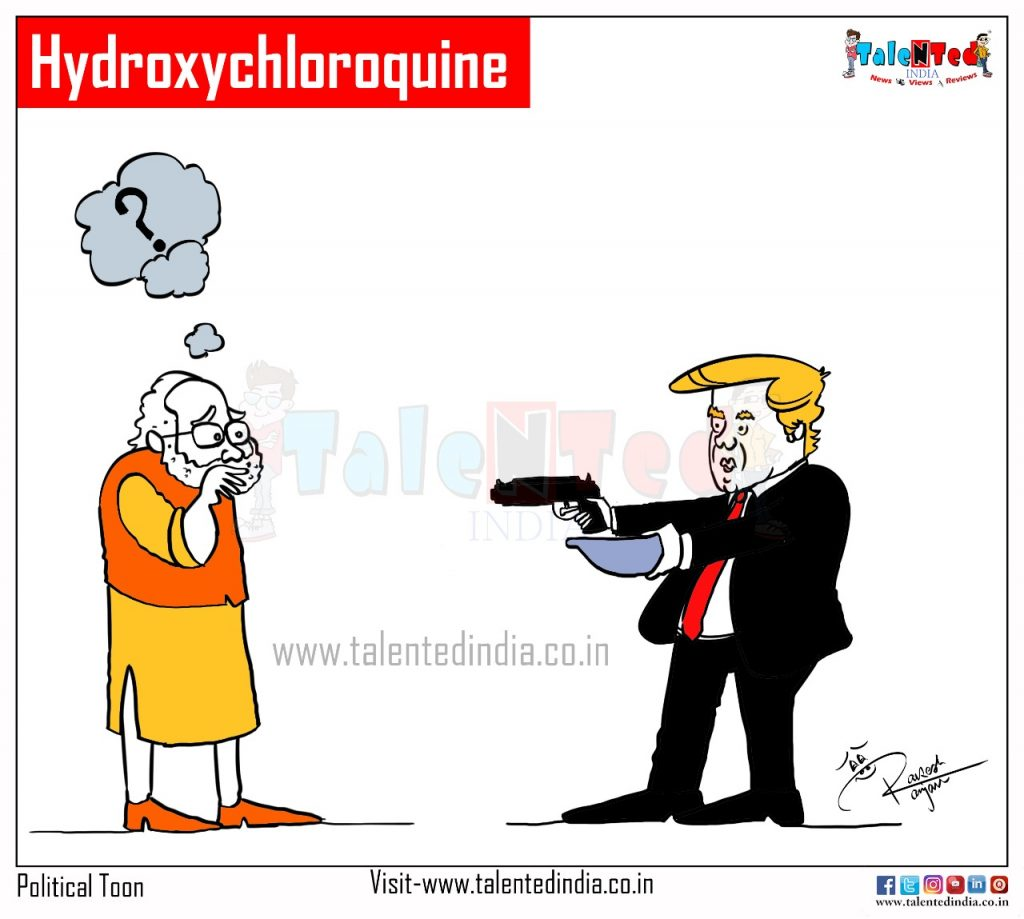 Modi Released Hydroxychloroquine To US