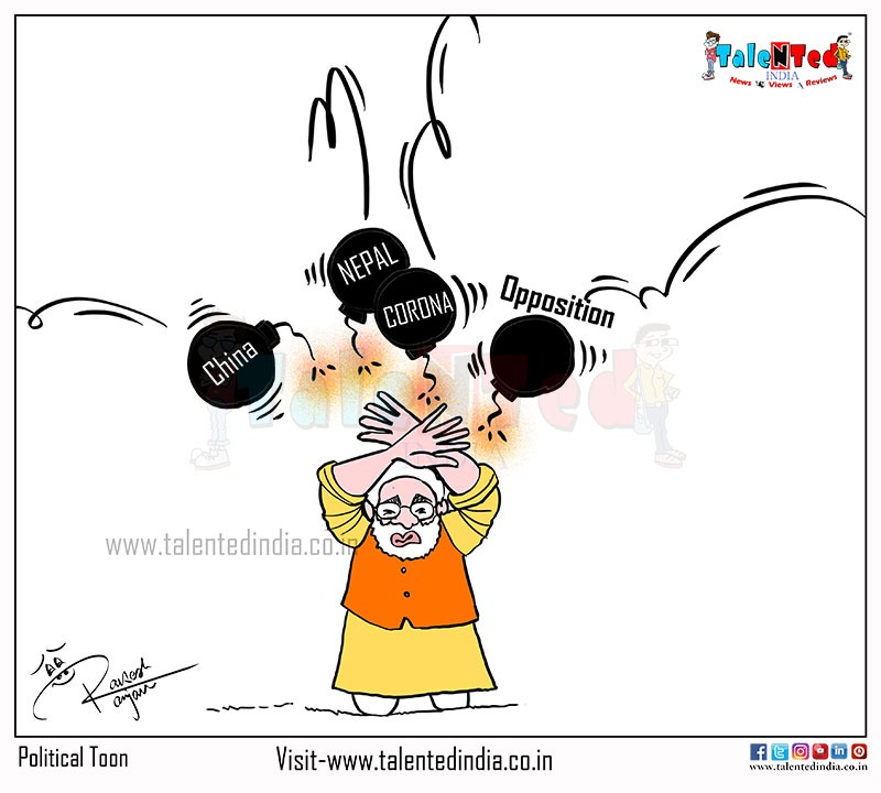 PM Narendra Modi Corona | Today Cartoon | Political Memes | BJP